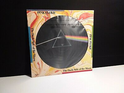 """PINK FLOYD""""Dark side Of The Moon Picture Disc""""Lp Vinyl Wall Meddle Waters Clouds"""