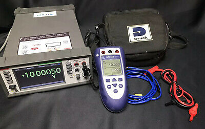 GE Druck DPI 880 Multifunction Calibrator With Case And Leads (8800016525)
