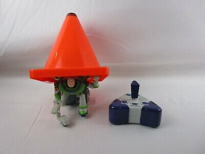 Toy Story Buzz Lightyear Undercover Buzz Orange Cone Remote Control