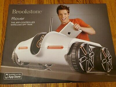 Brookstone Picture Taking App-Controlled Spy Tank Rover WiFi Vehicle (AC13)