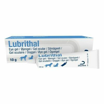 Lubrithal Ophthalmic Eye Gel for Cats and Dogs 10g Tube