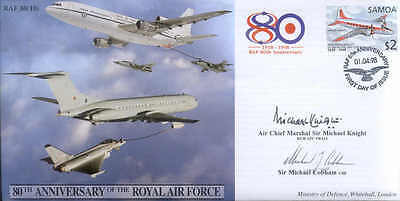 CC8cdr JSCC Vickers VC10 10 Squadron RAF signed cover