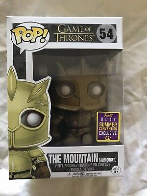 Funko Pop! 2017 Summer Convention Exclusive Game Of Thrones The Mountain See Des