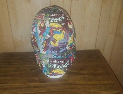 WELDING CAP MADE WITH MARVEL COMICS BOOKS