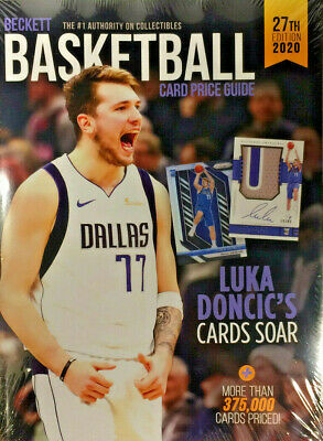 New 2020 Beckett Basketball Card Annual Price Guide 27th Edition w/ Luka Doncic
