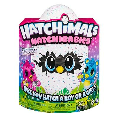 Hatchimals, HatchiBabies Cheetree, Hatching Egg with Interactive Toy Pet Baby