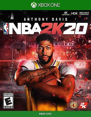 NBA 2K20 Xbox One Standard Edition Brand New Factory Sealed!