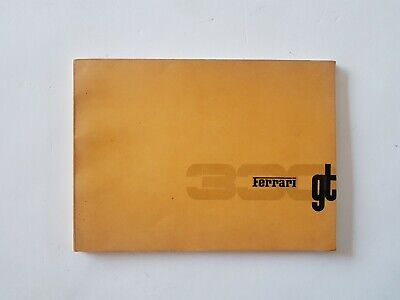 Original Ferrari 330 GT spare parts catalogue / manual 1964 / AWESOME CONDITION