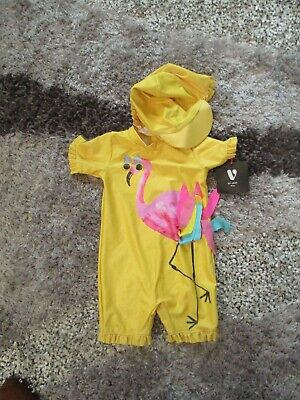 18-24 Months RRP £29 BNWT Rachel Riley Baby Flamingo Swimsuit Sizes 6-12