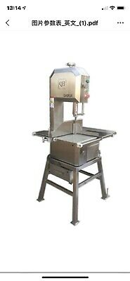 QH 270 Meat & Bone Band Saw - Stainless Steel