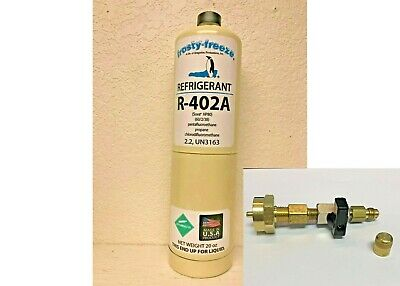 R-402a, HP-80, Refrigerant, R402A, HCFC, R502, R-502 Replace Thermo King 20 oz.