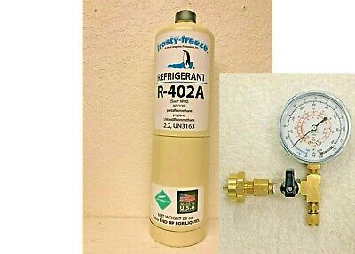 R-402a, HP-80, Refrigerant, R-402A, HCFC, R502, R-502 Replace Thermo King 20 oz.