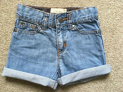 Stella Mccartney baby girl denim shorts age 12 months