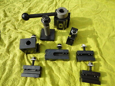 Chinzoa 250-200 Medium Tool Post with Quick Change Tool holders for Lathe