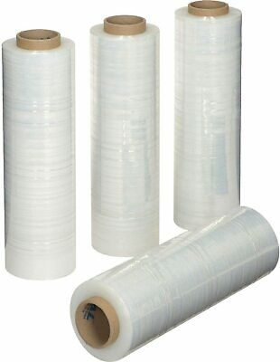 "18""x 1500 FT Roll- 80 Gauge Thick 33 Lbs per Case,Stretch wrap  ( 4 Pack )"