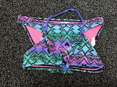 Girls H&M Bikini~Multi Coloured With Shimmer~Age 8-10 Years