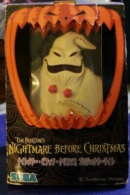 Disney OOGIE BOOGIE The NIGHTMARE Before CHRISTMAS Projector Light SEGA (NEW)