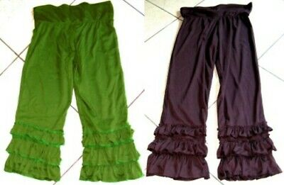 Child's bloomers frilly calf length trousers elf pixie woodland fairy festival