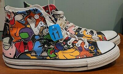 THE CLASH CONVERSE All Star Chuck Taylor High Top Sneakers