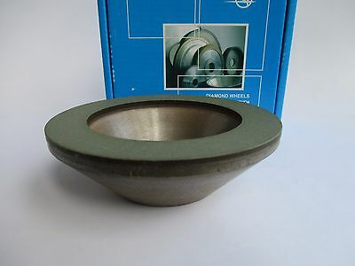125x20mm. Hole 32mm. Type: 12А2-45 Cup Tool Diamond Wheel Grinding. Various Grit