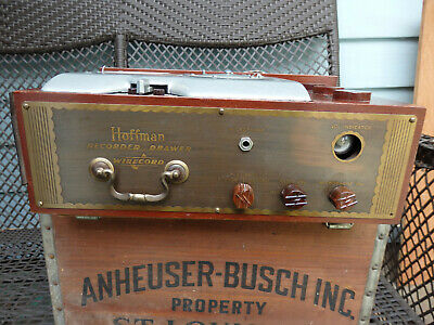 Hoffman Wire Recorder from console JBL James B Lansing provenience