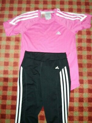 Girls sports leggings And Top Adidas