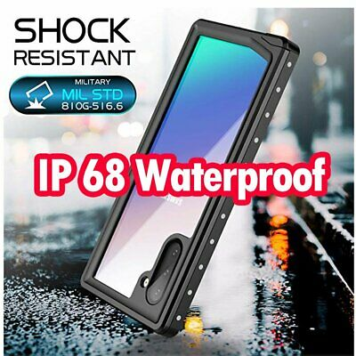 For Samsung Galaxy S10 S9 S8 Note 10 Plus Waterproof Drop Proof Shockproof Case
