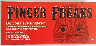 "FINGER FREAKS  Art Kit ""Do you have fingers?"""