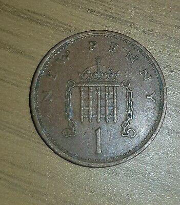 1971 NEW PENCE 1p, Rare Coin x 1 Collectable One Penny Coin Very Rare Circulated