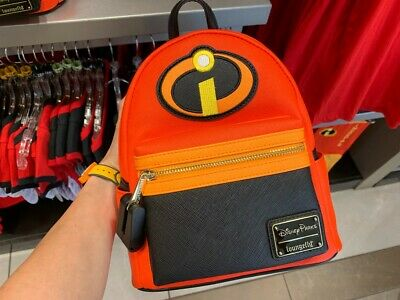 "Brand new!  Disney Parks ""The Incredibles"" Logo Loungefly Backpack"