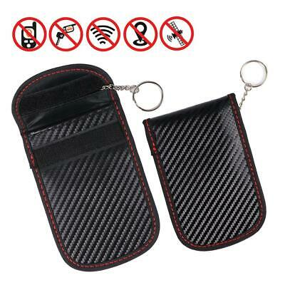 RFID Signal Blocking Bag Cover Case Faraday Cage Pouch For Keyless Car Keys  MZ