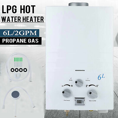 Portable LGP Gas Hot Water Heater Shower Camping Instant Caravan 4WD AU c9