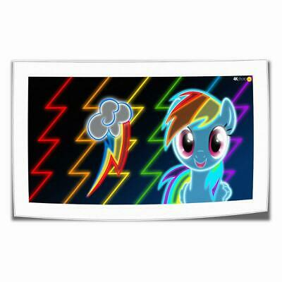 """16""""x30""""My Little Pony HD Canvas print Painting Home decor Picture Room Wall art"""