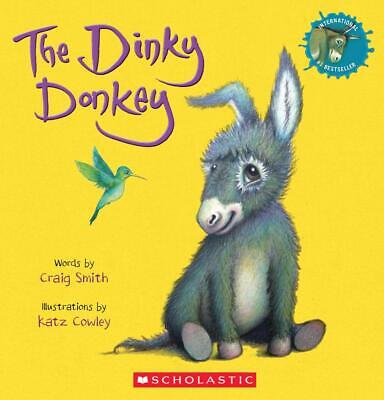 The Dinky Donkey by Craig Smith Children's Farm Animal Books  Stories Paperback