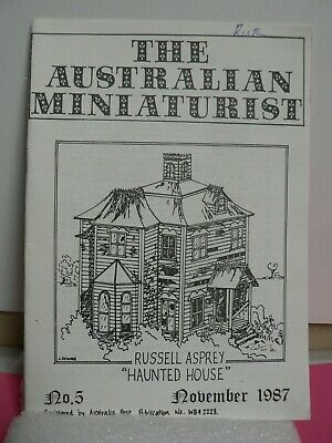 The Australian Miniaturist Quarterly Magazine For Makers And Collectors