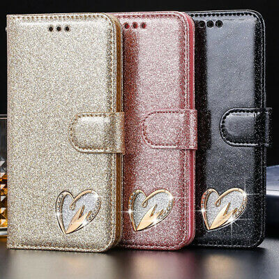 For Samsung S10 S9 S8 S7 A50 A70 Leather Magnetic Flip Wallet Phone Case Cover