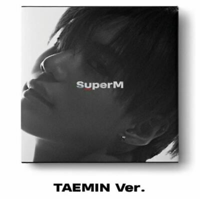 "K-POP SuperM 1st Mini Album ""SuperM'"" [ 1 Photobook + 1 CD]  TAEMIN Ver"