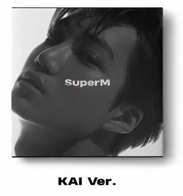 "K-POP SuperM 1st Mini Album ""SuperM'"" [ 1 Photobook + 1 CD]  KAI Ver"