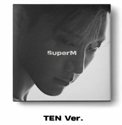 "K-POP SuperM 1st Mini Album ""SuperM'"" [ 1 Photobook + 1 CD] TEN Ver"