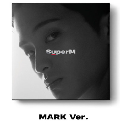 "K-POP SuperM 1st Mini Album ""SuperM'"" [ 1 Photobook + 1 CD] MARK Ver"