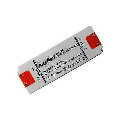 Alimentatore Switching 24V 50W 2.1A Alcapower 963202