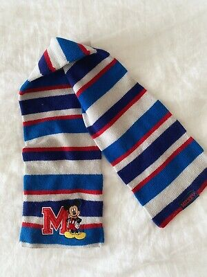 Mickey Mouse Striped Scarf