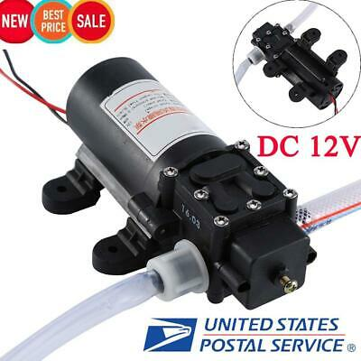 12V Oil Fuel Fluid Extractor Electric Transfer Scavenge Suction Pump Kit w/ Tube