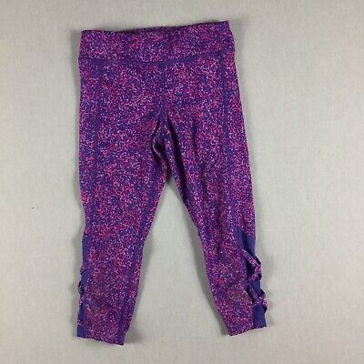C9 By Champion Girls Youth Size Medium (7-8) Cropped Athletic Leggings. Z