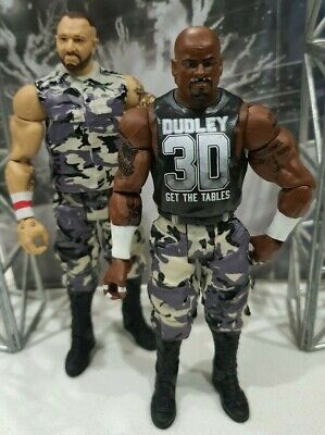 Wwe Mattel Series Battle Pack Dudley Boys Dvon Bubba Ray Set Of Two 41