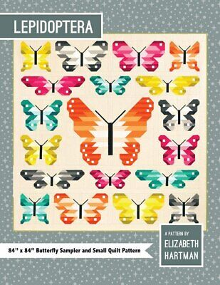 Lepidoptera Quilt Pattern By Elizabeth Hartman Quilting Sewing Craft DIY