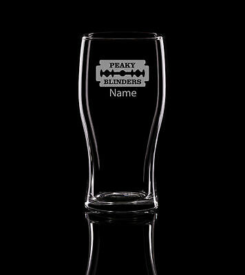 Peaky Blinders Birthday Pint Glass, Beer Glass, Pub Glass 500ml.228