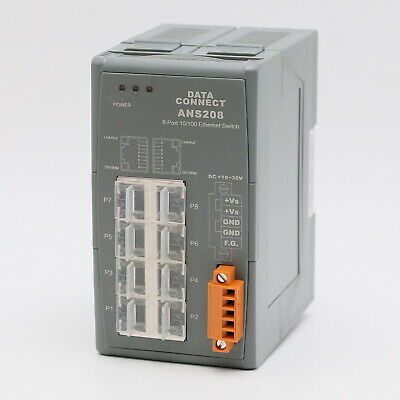 Data Connect ANS208 8-Port INDUSTRIAL ETHERNET SWITCH