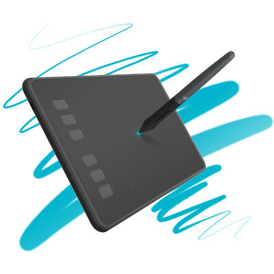 HUION H640P 6-Inch Digital Pen Tablet Graphic Drawing 8192 Pressure levels