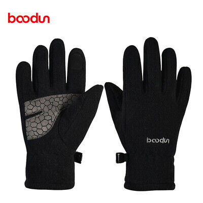 Kids Children Winter Skiing Gloves Thermal Warm Windproof Gloves Touch Screen A